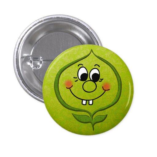 Botón de Sweetpea Pin Redondo De 1 Pulgada
