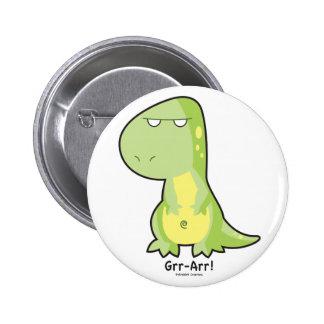 Botón de T-Rex Grr Arr