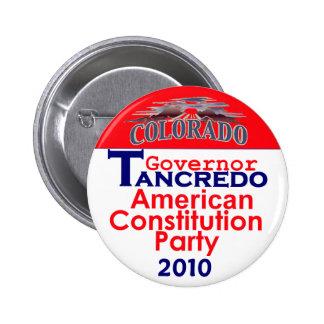 Botón de TANCREDO 2010 Pin