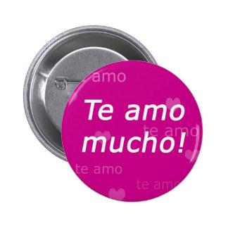 Botón de Te Amo Pins