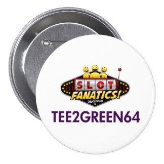 Botón de Tee2Green64 kc Pins