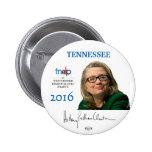 Botón de Tennessee Pinback del funcionario de Pin