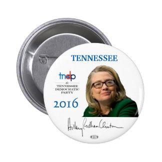 Botón de Tennessee Pinback del funcionario de Pin Redondo De 2 Pulgadas