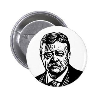 Botón de Theodore Roosevelt Pins