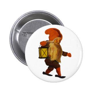Botón de Tomten - llano Pin Redondo De 2 Pulgadas