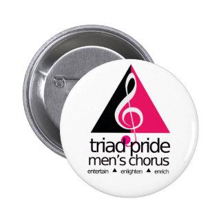 Botón de TPMC Pin Redondo De 2 Pulgadas