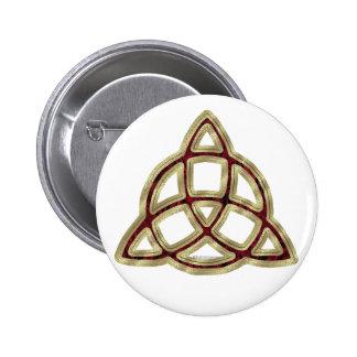 Botón de Triquetra Pin
