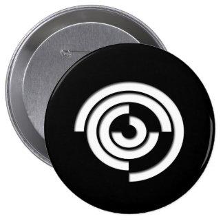 Botón de TTC Pin Redondo De 4 Pulgadas