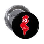 Botón de Túnez Pin