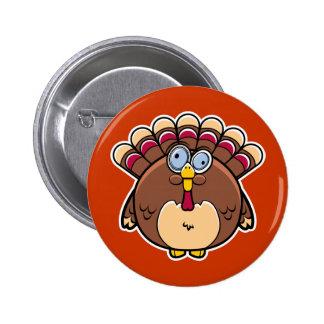 Botón de Turquía de la acción de gracias