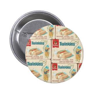 Botón de Twinkies Pin Redondo De 2 Pulgadas