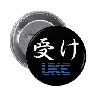 Botón de Uke Pin Redondo De 2 Pulgadas