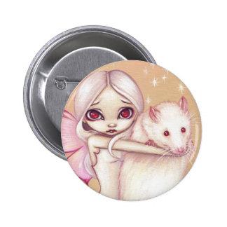 """Botón """"de una rata hermosa"""" pins"""