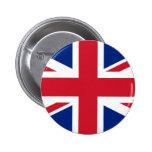 Botón de Union Jack Reino Unido Pin