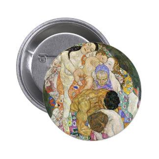Botón de vida y de la muerte de Gustavo Klimt Pins