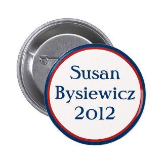 Botón de VintageSusan Bysiewicz Pin