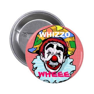 Botón de Whizzo Pin Redondo De 2 Pulgadas