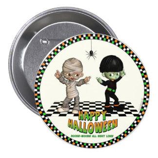 Botón de Woogie de la boogie de Halloween