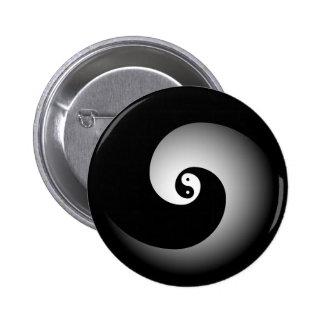 Botón de Yin Pin Redondo De 2 Pulgadas