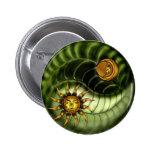 Botón de Yin Yang del Día de la Tierra Pin