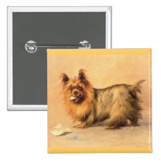 Botón de Yorkshire Terrier