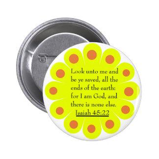 Botón del 45:22 de Isaías Pin