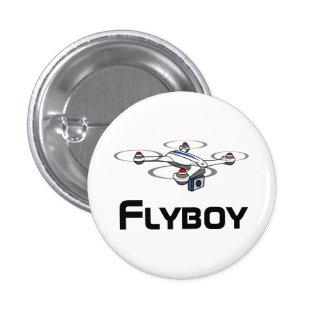 botón del abejón del quadcopter del flyboy pin redondo de 1 pulgada