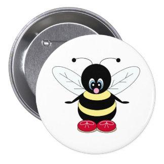 Botón del abejorro pin