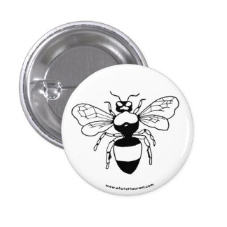Botón del abejorro pins