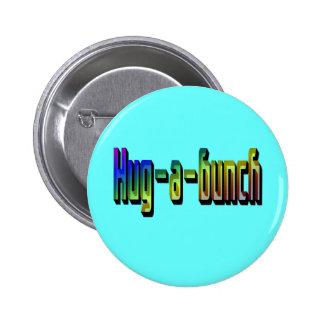 Botón del Abrazo-uno-Manojo Pins