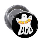Botón del abucheo del fantasma de Halloween Pin