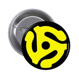 botón del adaptador de 45 RPM Pin