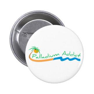 Botón del adicto a Palladium Pin Redondo De 2 Pulgadas