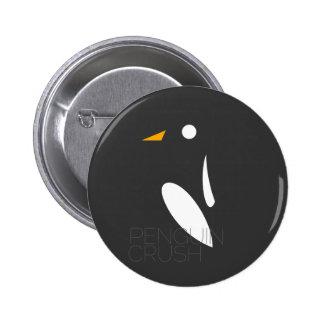 Botón del agolpamiento del pingüino pins