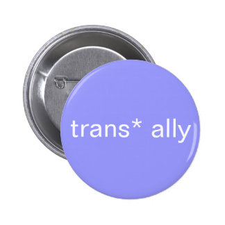 botón del aliado del trans* pin