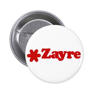 Botón del almacén grande de Zayre Pin Redondo De 2 Pulgadas