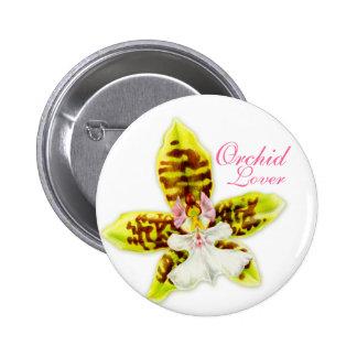 Botón del amante de la orquídea