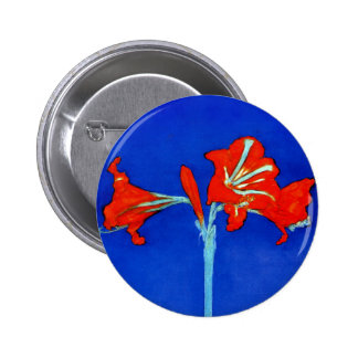 Botón del Amaryllis de Mondrian Pins