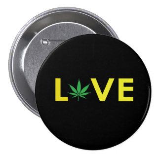 Botón del amor de 3 pulgadas pin redondo de 3 pulgadas