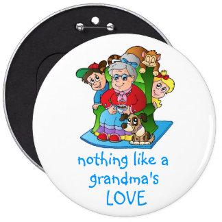 Botón del amor de la abuela pins
