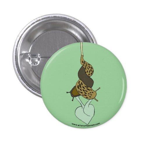 Botón del amor de la barra pin redondo de 1 pulgada
