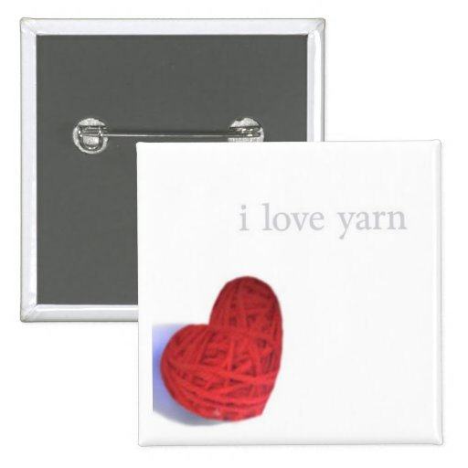 botón del amor del hilado