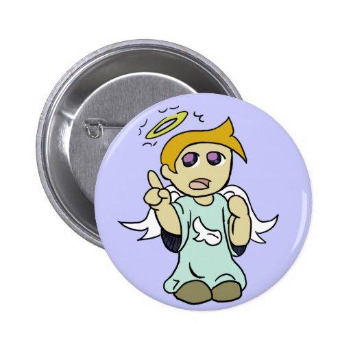 Botón del ángel del hombro pins