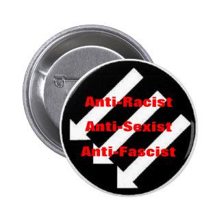 botón del anti-racista pin