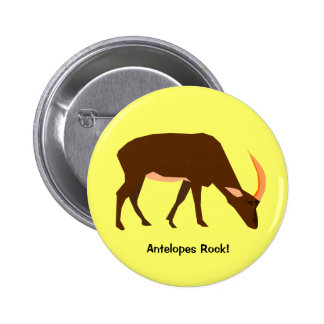 Botón del antílope pins