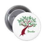Botón del árbol de familia pins