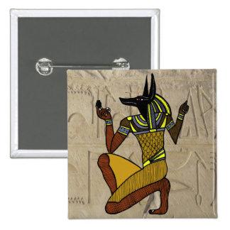 Botón del arrodillamiento Anubis Pin