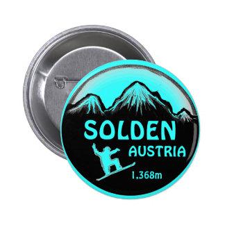 Botón del arte de la snowboard del trullo de Solde Pin Redondo De 2 Pulgadas