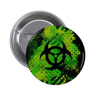 Botón del arte del coleccionable del Biohazard $6, Pins