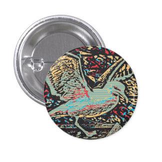 Botón del arte pop de la gaviota pins